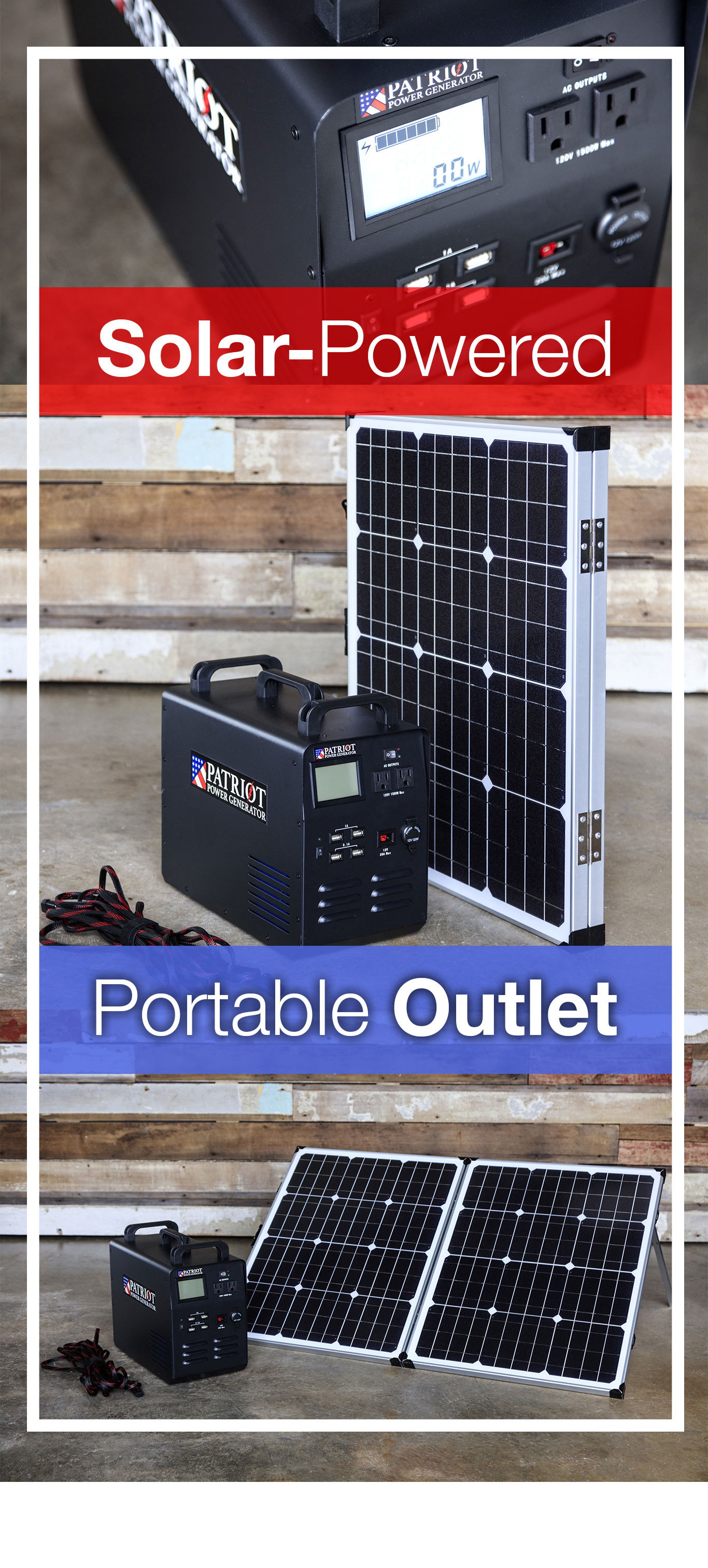 This Thing Can Power Just About Any Device You Can Plug Into A Standard Wall Outlet Including A Fridge It Even Comes With A Foldable S Solar Generator Solar Best Solar