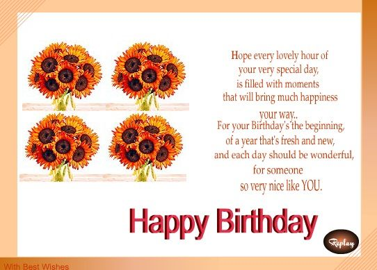 Birthday wishes for girlfriend messages birthday greeting birthday wishes for girlfriend messages wordings and gift ideas bookmarktalkfo Gallery