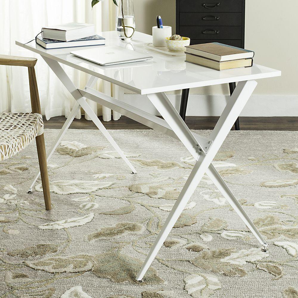 Safavieh Modern Desk, White