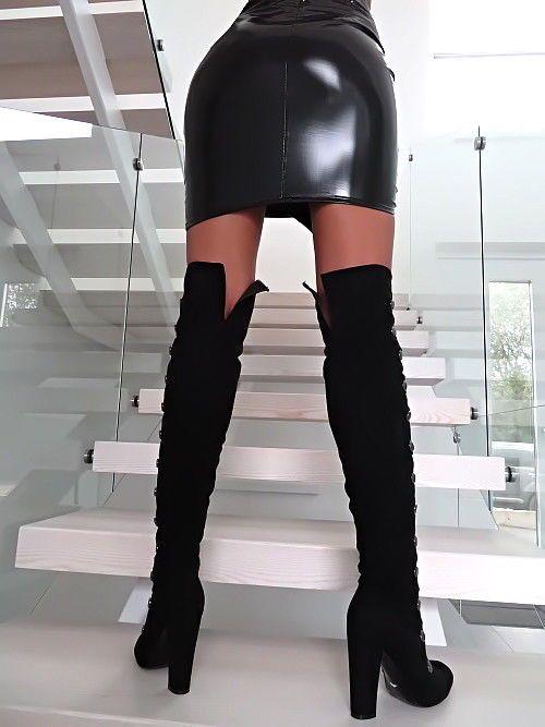 11ad3d3e0d NEU 2018 HOHE Lange Overknee Stiefel Schwarz Z92 Schuhe Corset Boots High  Heels