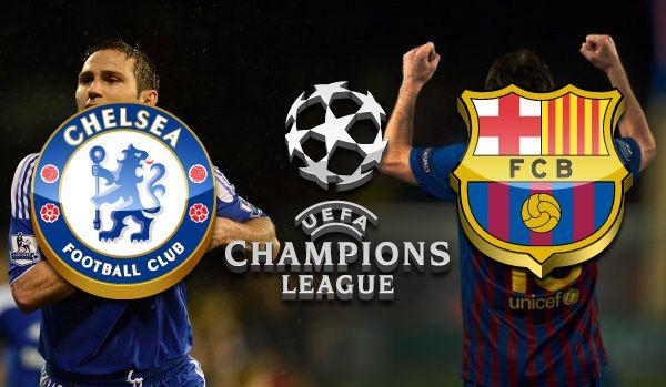 Chelsea Barcelona No Ultimo Encontro Entre As Equipas O Chelsea Considera Que Foi Prejudicado