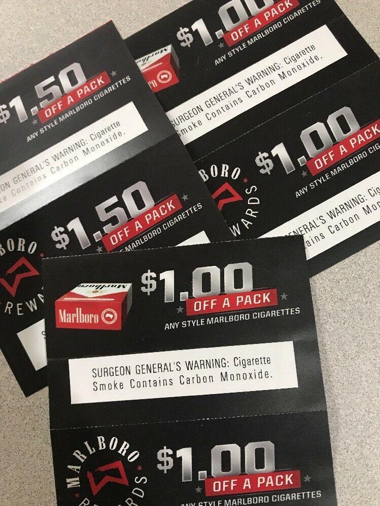 Marlboro Cigarette Coupons $7 In Savings: $3 51 (7 Bids) End Date