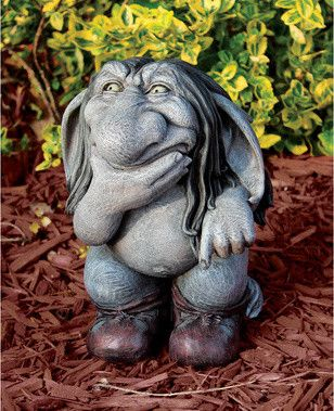 Merveilleux Cute Garden Gargoyles Or Gnomes Will Find A Place In The Room Too |  Gardening | Pinterest | Gnomes, Gardens And Room