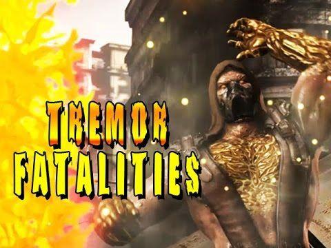 TREMOR: Fatalities, Intros & Brutalities (Mortal Kombat X)