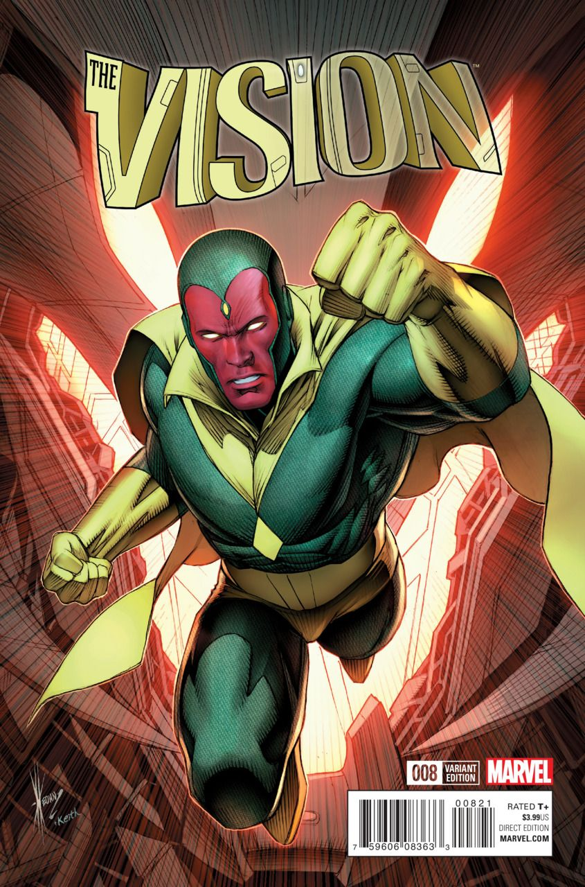 Vision #8 - Victorious (Issue)   superheroes   Pinterest