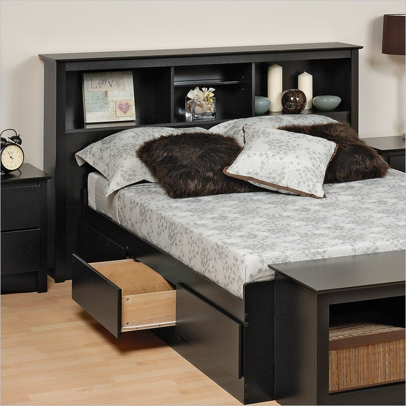 Shop The Full Queen Size Headboard In Black Sonoma Collection
