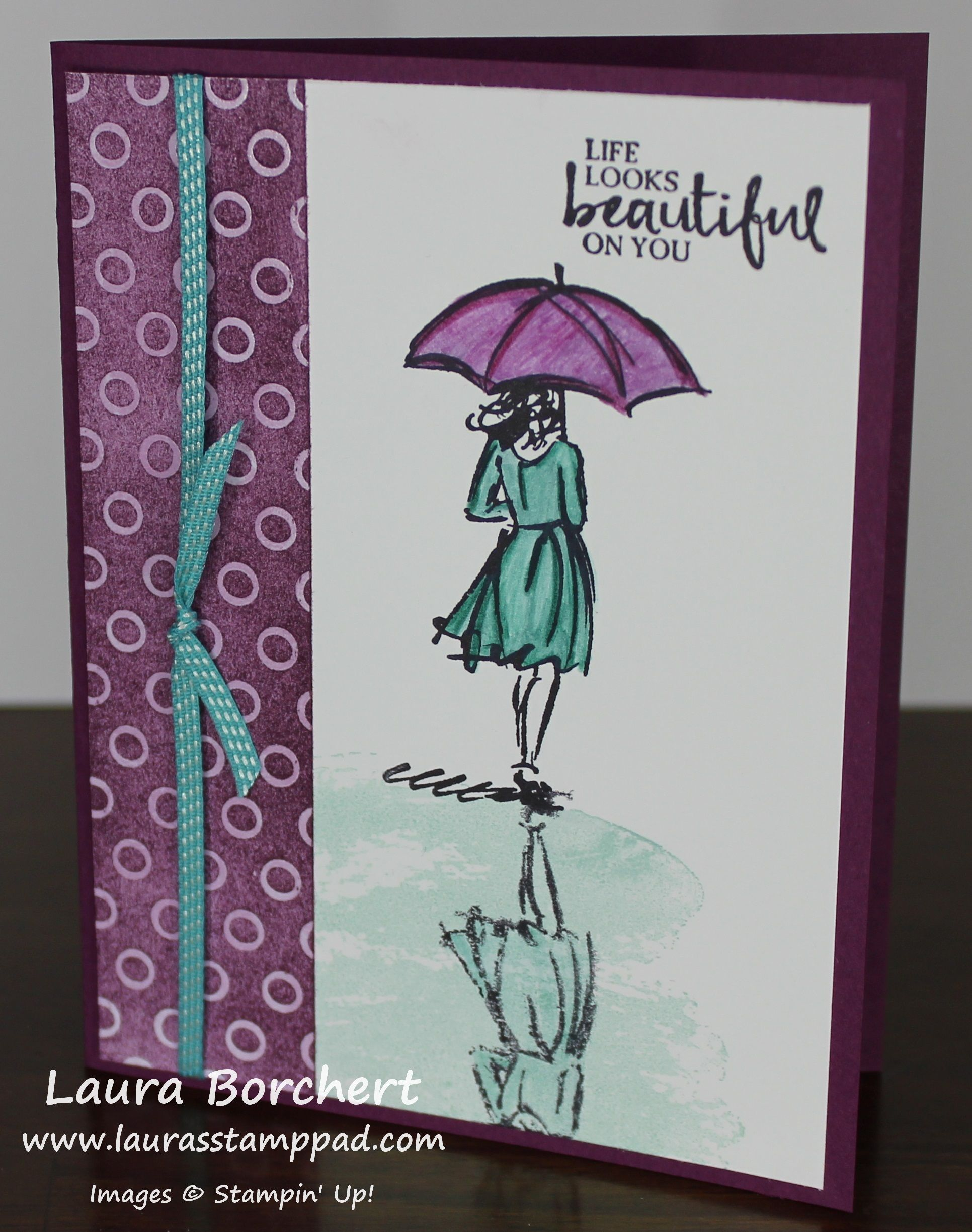 Technique Tuesday Beautiful Reflection Stamp Beautiful Stamp Pad