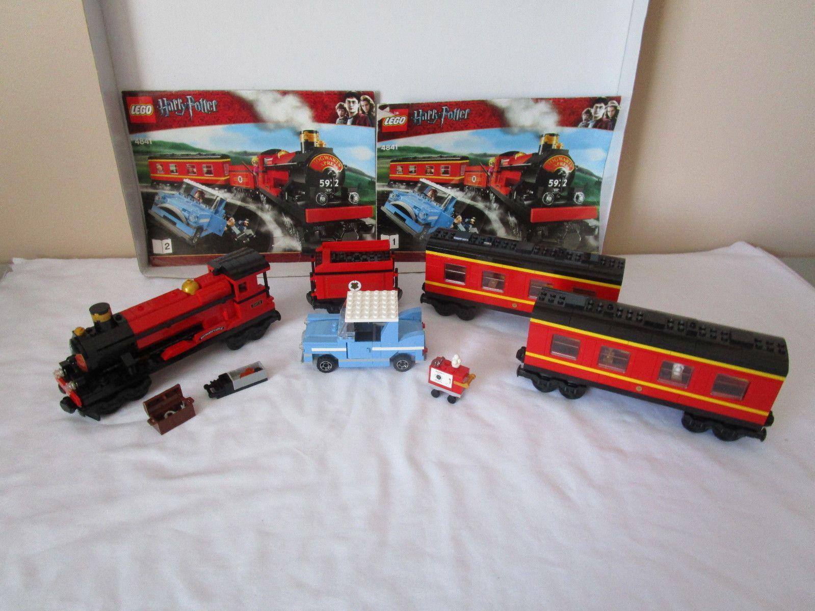 Lego Harry Potter Hogwarts Express Train Set 4841 With Extra Car