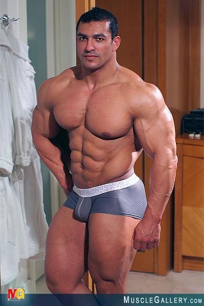 Muskel män singlar