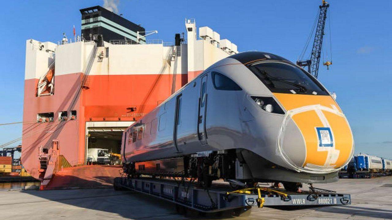 New Virgin Azuma Trains Arrive In The Uk Train Rolling Stock