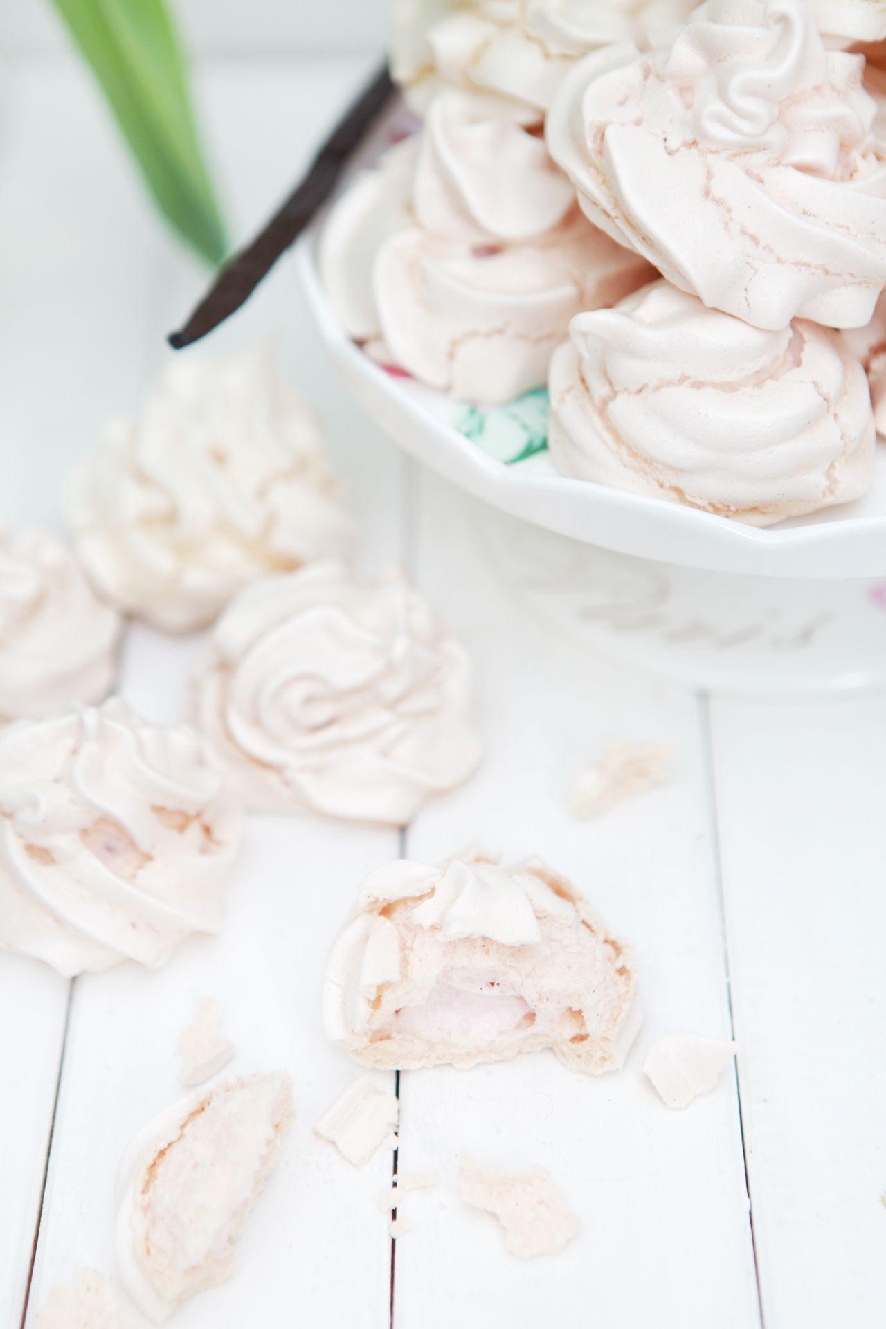 vanilla  meringue.