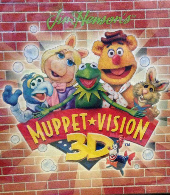 Vintage Muppets Vision 3-D Toy Set