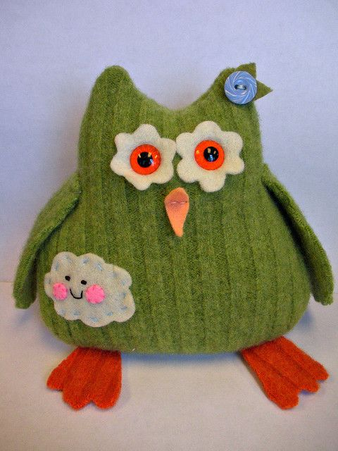Maybe girls could make one from a sock as a first sewing project...