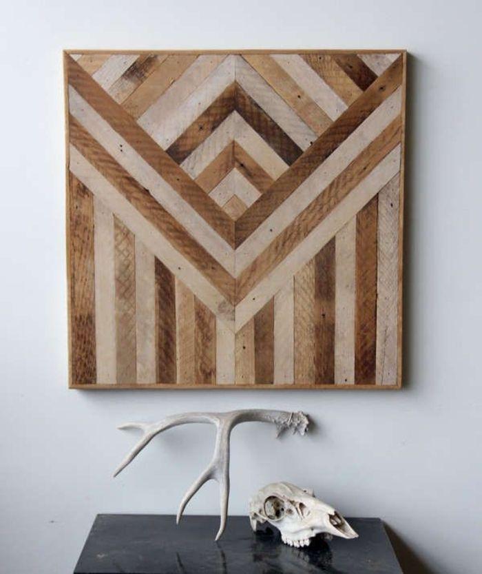 40 verblüffende Ideen für Wanddeko aus Holz | Wanddeko für ein ...