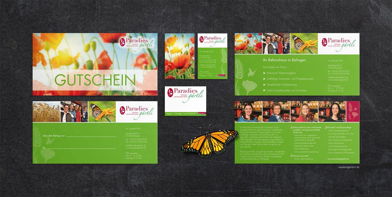 Gutschein Flyer Preisschilder Visitenkarten Für Das