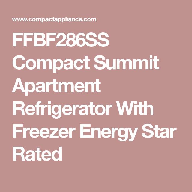 Summit 16.8 Cu. Ft. Energy Star Refrigerator w/ Bottom Freezer