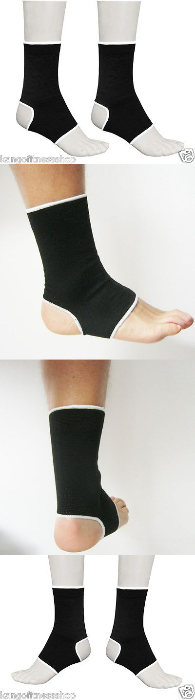MMA Thai Ankle Supports Kango Fitness MMA Compression Kick Boxing Wrap/'s Pair