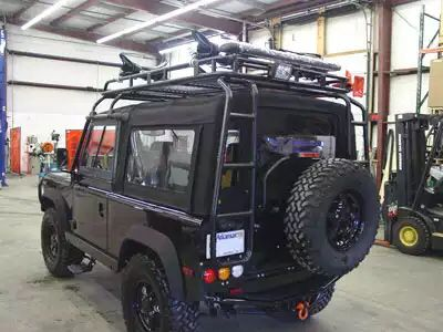 NAS 90 Roof rack over canopy. & NAS 90 Roof rack over canopy. | Land Rover | Pinterest | Roof rack ...