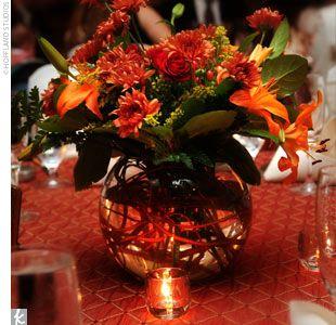 Autumn vase idea