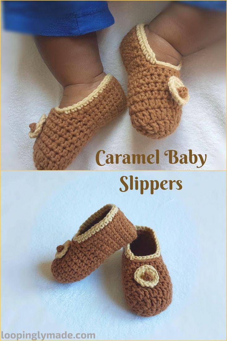 Caramel Baby slippers