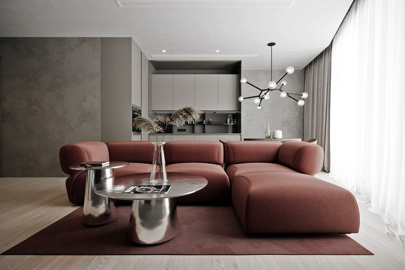gray and red on behance in 2020  grey and red living room