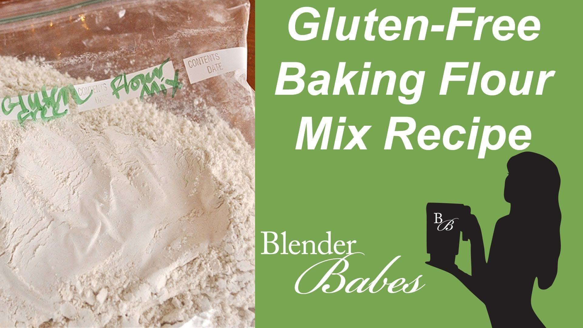 Gluten-Free Baking Flour Mix. @BlenderBabes www.blenderbabes.com #vitamix #blendtec #recipe #glutenfree #flour