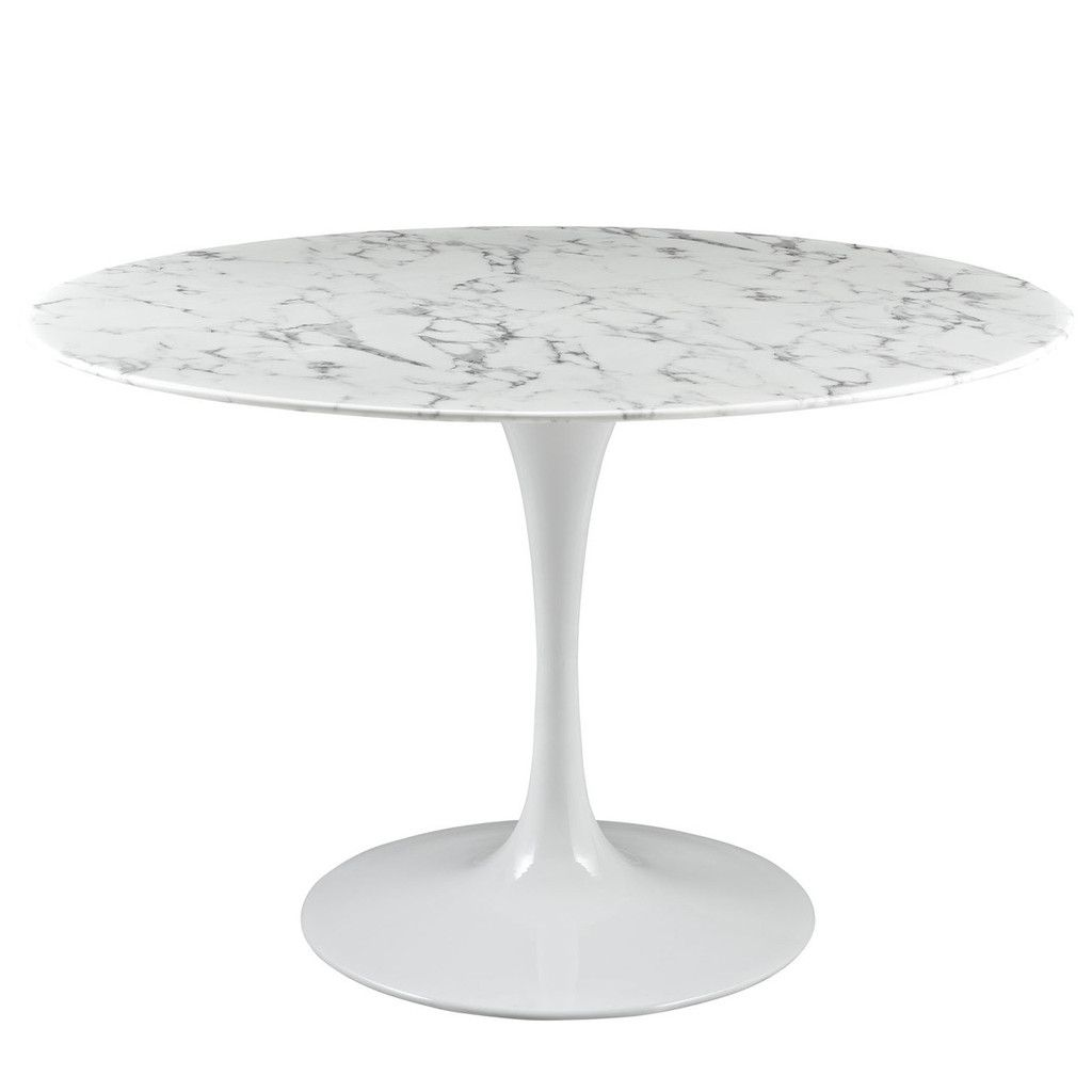 Round Or Oval Saarinen Style White Faux Marble Dining Tulip Table Aluminum Base Many Sizes Marble Dining Dining Table Marble Artificial Marble [ 1024 x 1024 Pixel ]