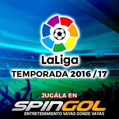 Arranca la #LigaEspañola y el puntapié inicial éste sábado lo da el #Barcelona de #Messi y cia. No te lo pierdas y jugalo en spingol.com o m.spingol.com móvil