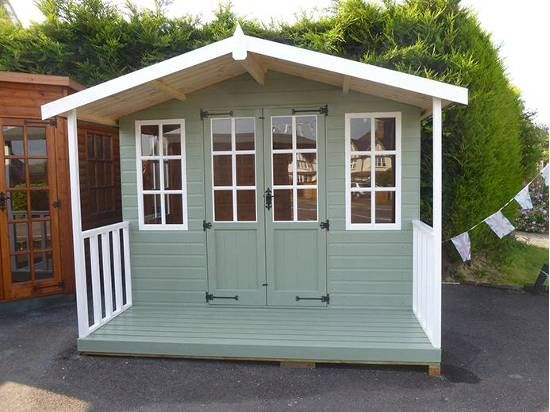 Summer House Painted Google Search Summer House Paint Painted Shed Shed