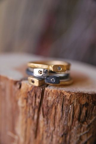 camille stacking rings $125