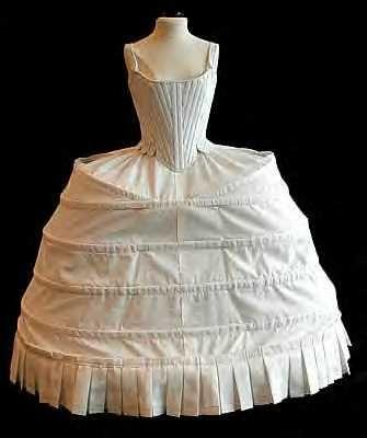 elizabethanera undergarments  hoop skirts of yesterday