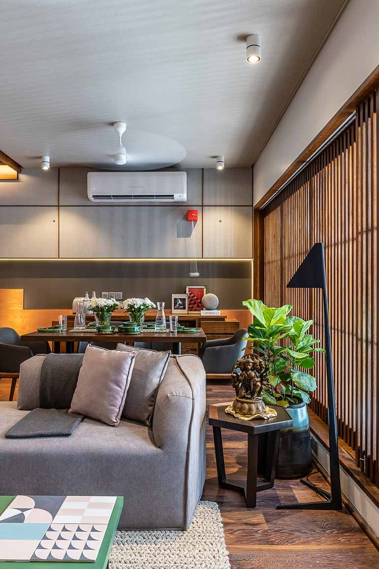 Architect Amit Shastri's Home Is Plush with Wood and Light ...