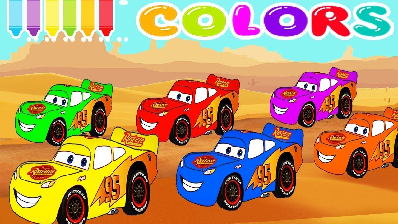 Learn Colors And Numbers With Mcqueen Cars For Kids Spiderman Cartoons On Truck For Children Learn