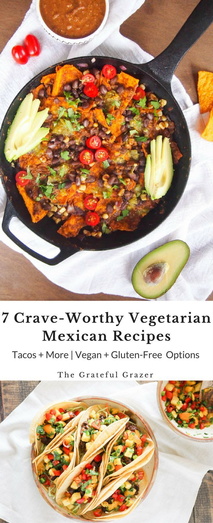 Vegetarian Mexican recipes don't have to be complicated