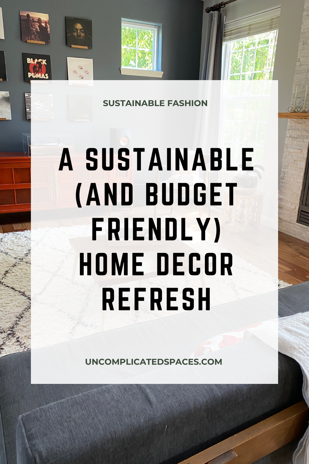 Updating home decor doesn't have to mean shopping for new things! #homedecor #homedecorideas #homedecorideaslivingroom #budgetfriendly #budgethomedecor #budgethomedecorating #decoratingonabudget