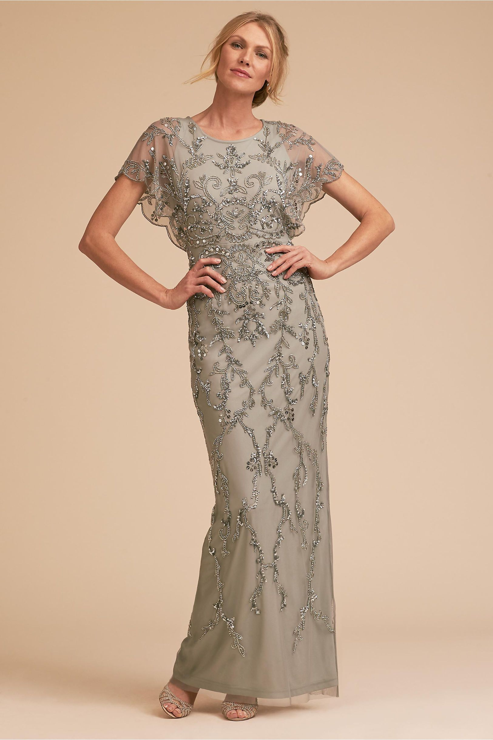 6dec21ac BHLDN's Adrianna Papell Riesling Dress in Blue Mist | Products ...