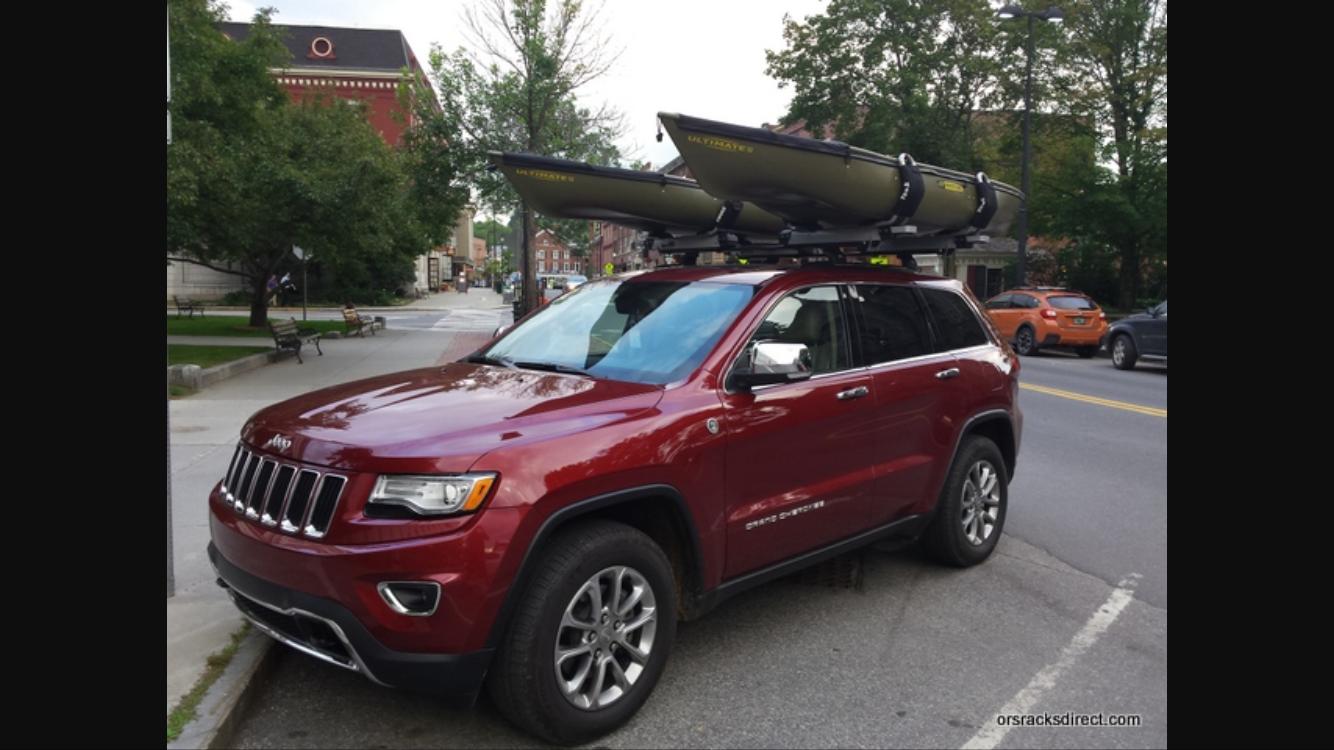 2016 Jeep Grand Cherokee Jeepgrandcherokee Kayakrack Adventure