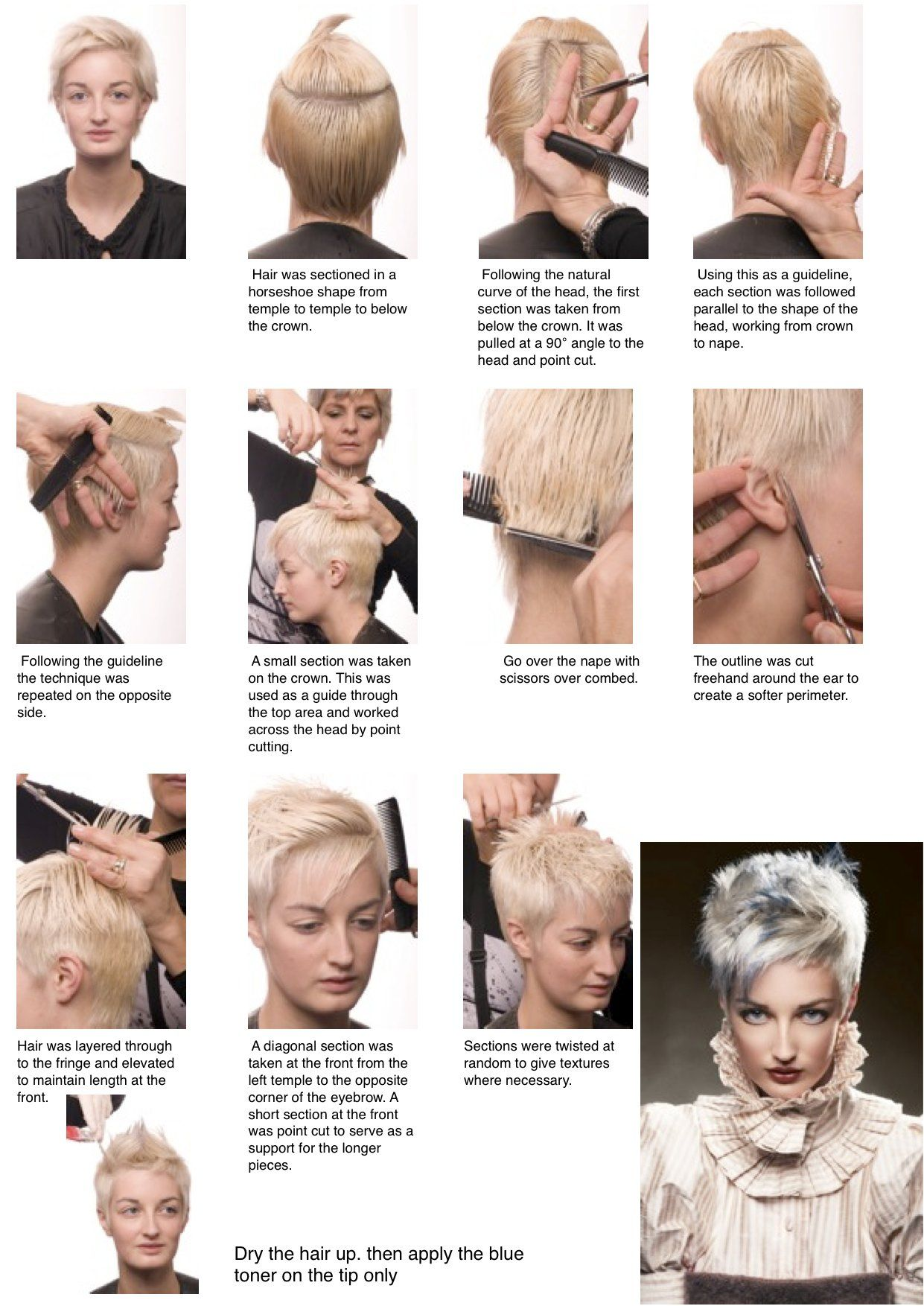 Mens haircut diagram great use of toners hair by anne veck  hair  pinterest  haircuts