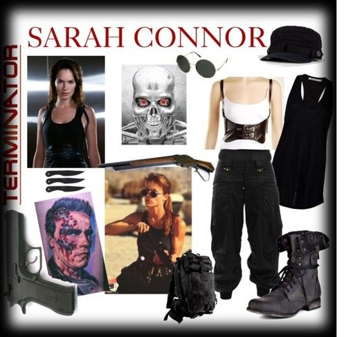 halloween costumes sarah connor style tumblr terminator