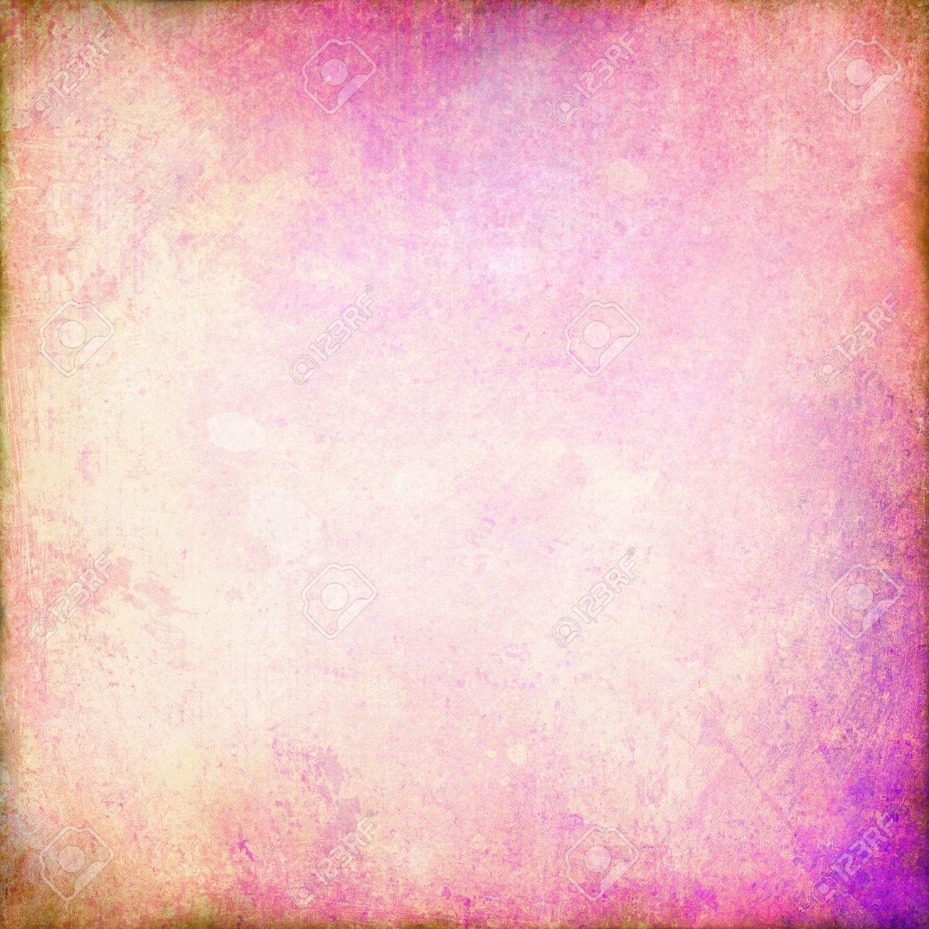 Pale Pink Background Or White Of Vintage Grunge