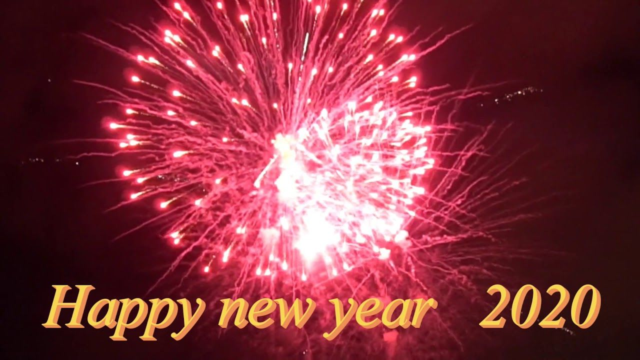 Happy New Year 2020 Video Download Star Video Effect Happy New Year 2020 Happy New Year New Year 2020