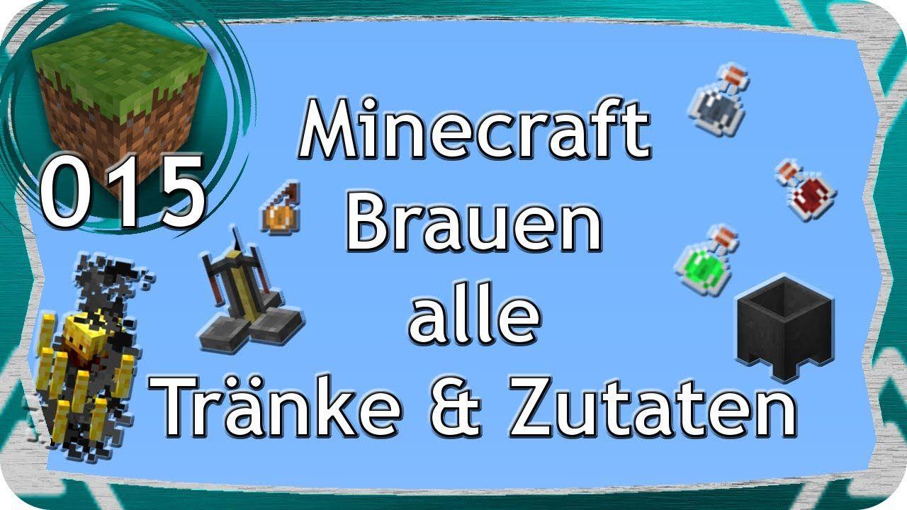 Minecraft Brauen Tutorial | CLM | Gaming | Spiele | Pinterest | Fe