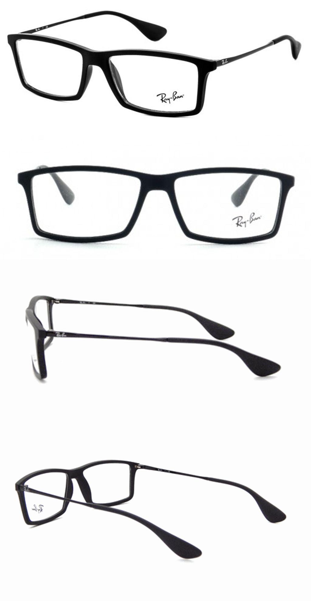 14097a3cca8f3 Eyeglass Frames  New 100% Authentic Ray- Ban Mens Eyeglasses Rb7021 5364  Mathew Black