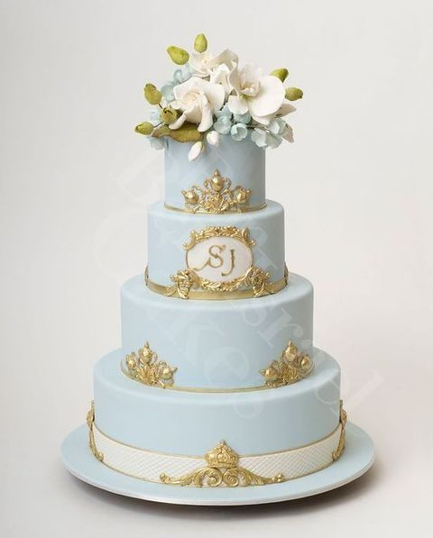 26 Delicate Dusty Blue And Gold Wedding Ideas My Dream Wedding Day