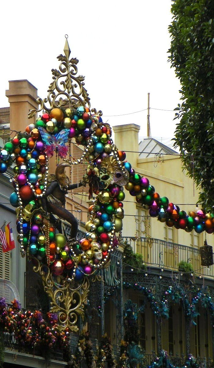 New Orleans Christmas.New Orleans Square At Christmas Louisiana U S New