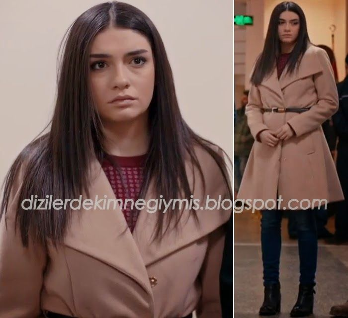 Medcezir - Eylül (Hazar Ergüçlü), Miss Selfridge Coat please follow me,thank you i will refollow you later