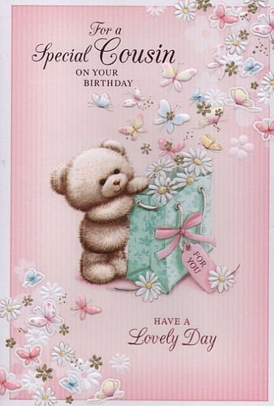 Female Relation Birthday Cards Happy Cousin Quotes Woman