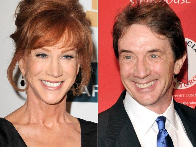 Separated At Birth Kathy Griffin Martin Short Martin Short Celebrities Kathy Griffin