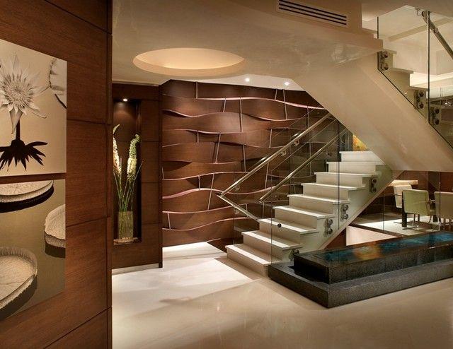 Modern Foyer Design Photo by Pepe Calderin Design - Modern Interior  Designers - Manhattan and Miami Album - Miami Beach - Miami -Akoya  Residence - By ...