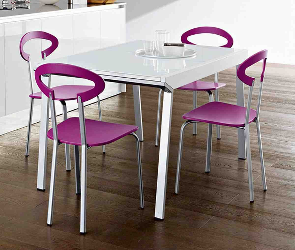 convenient seating ideas with attractive modern kitchen chairs